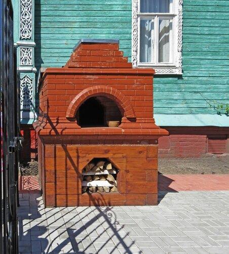 Памятник русской печке
