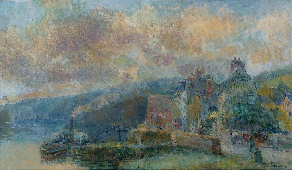 Albert Lebourg - The Streamboat at Croisset.jpeg