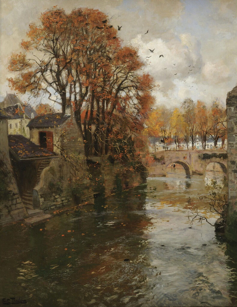Frits Thaulow - Quimperle, Bretagne.jpeg