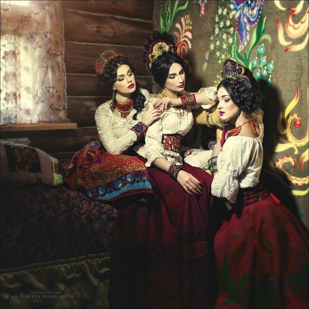 Russian fashion by Margarita Kareva