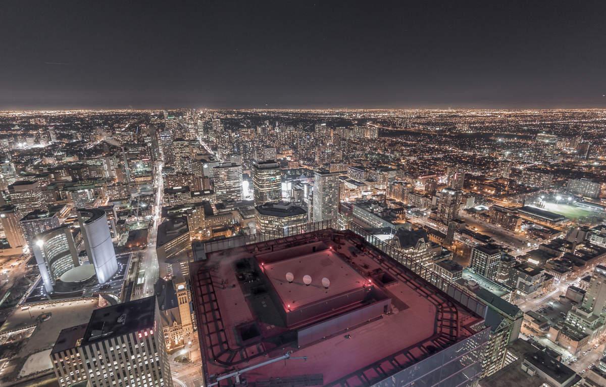 Снимки с крыши небоскреба