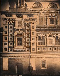 Вид части стены северо-восточного придела церкви Казанской Божией Матери. Марково с.,