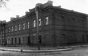 Вид здания завода акционерного общества Вестингауза.