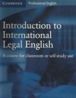 Аудиокнига CD for Introduction to International Legal English pdf, wma 115Мб
