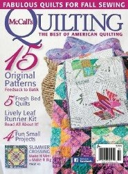 Журнал McCall's Quilting Vol. 22 №5 2015