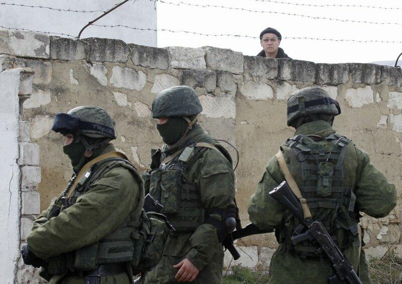 Росія готується до захоплення України
