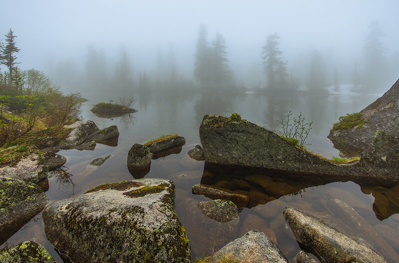 Туман на Лазурном