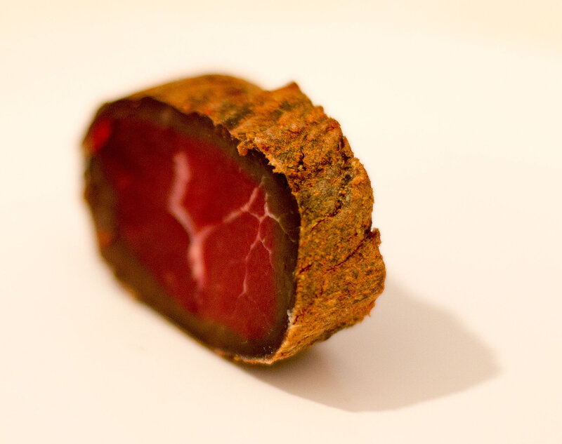 Вяленая или сушёная говядина