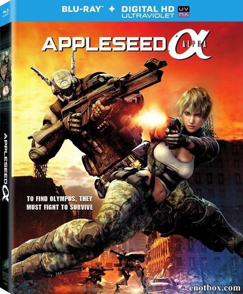 Проект Альфа / Appleseed Alpha (2014/BD-Remux/BDRip/HDRip)