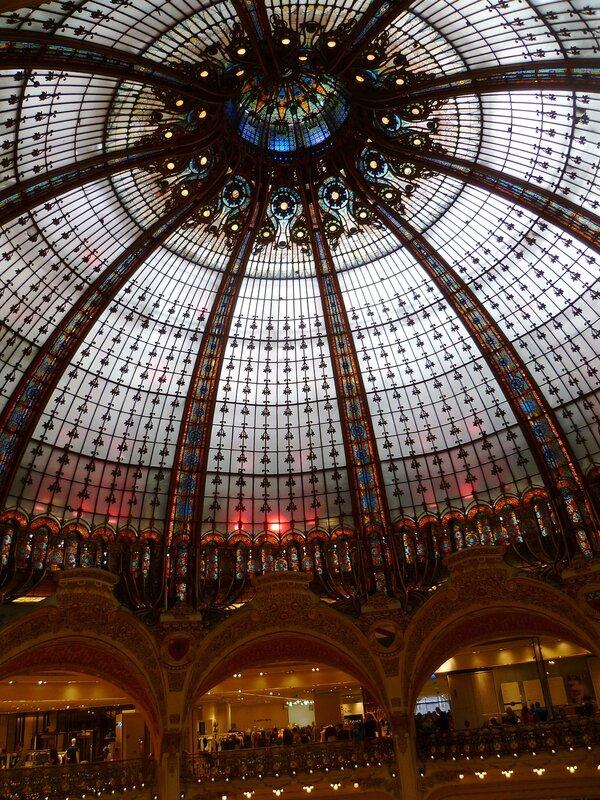 Париж, Галерея Лафайет (Paris, Galeries Lafayette)