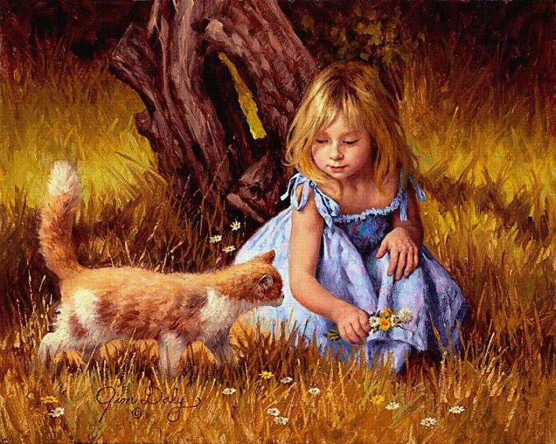 Детский мир глазами Jim Daly (Джим Дейли)