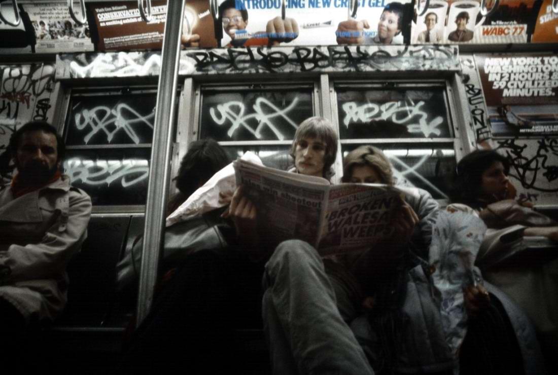 Американский фотограф Christopher Morris: Граффити и андеграунд нью-йоркского метро (6)