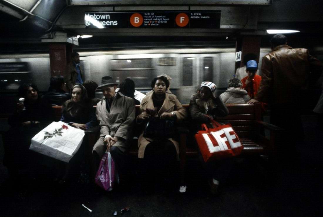 Американский фотограф Christopher Morris: Граффити и андеграунд нью-йоркского метро (35)