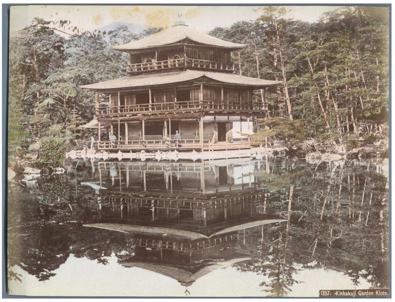 Киото. Сад храма Кинкакудзи