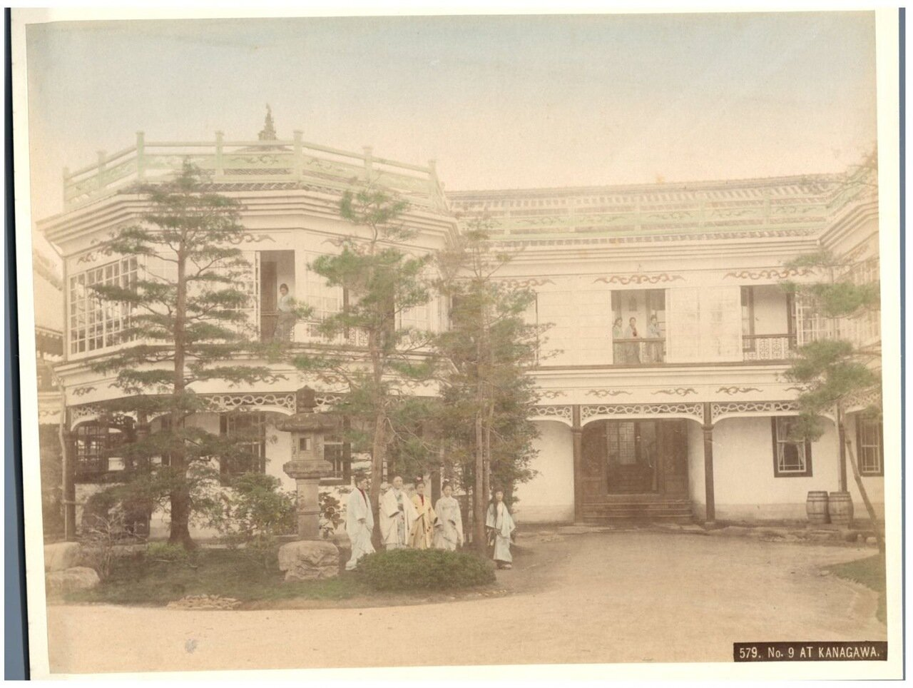 Канагава. Публичный дом «Нектарин» №9