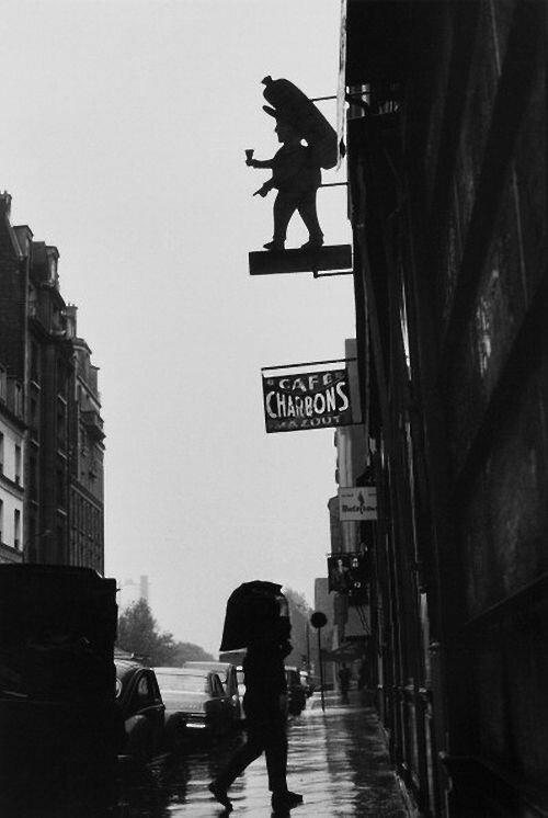 1950. Кафе «Шарбонс»