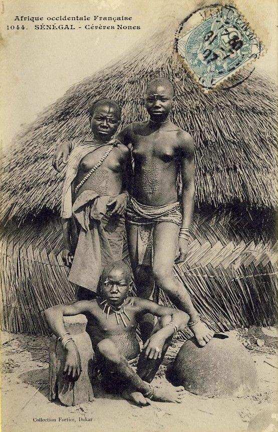 1044. Сенегал. представители народа гереро