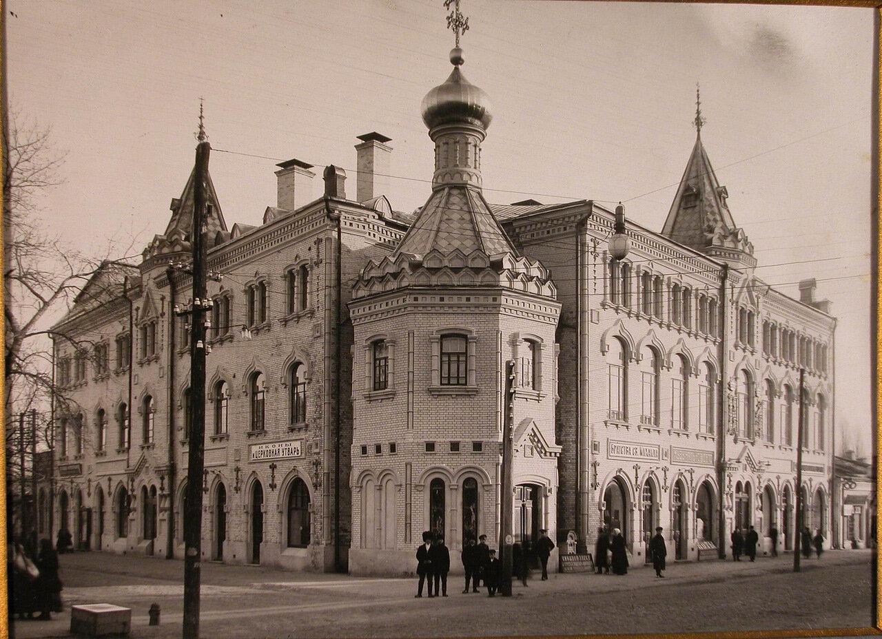 01. Общий вид Епархиального дома имени императора Николая II