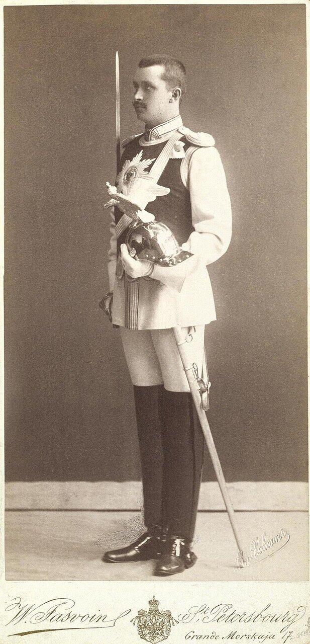 Портрет Карла Густава Маннергейма. 1896