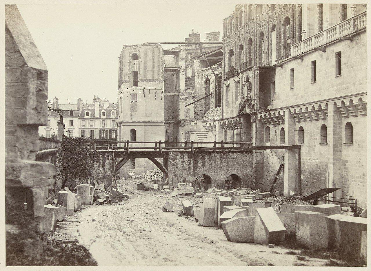 1863. Вид замка в Сен-Жермен-ан-Ле