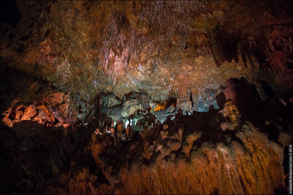 Пещера Дамлаташ (Damlataş Mağarası)