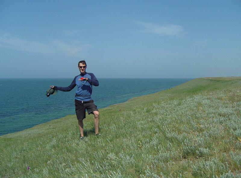 берег Азовского моря восточнее Каменского