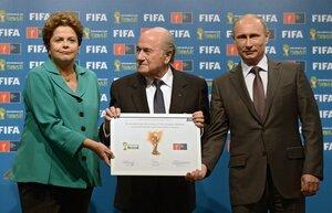 В Рио-де-Жанейро прошло вручение России права проведения ЧМ