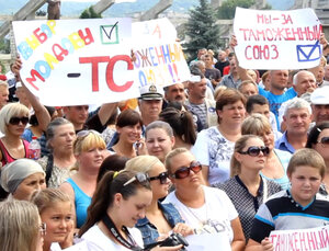 Фермеры в Молдове скандируют «Россия!», власть не слышит