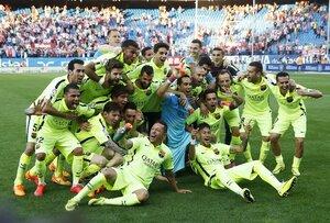 «Барселона» досрочно стала чемпионом Испании