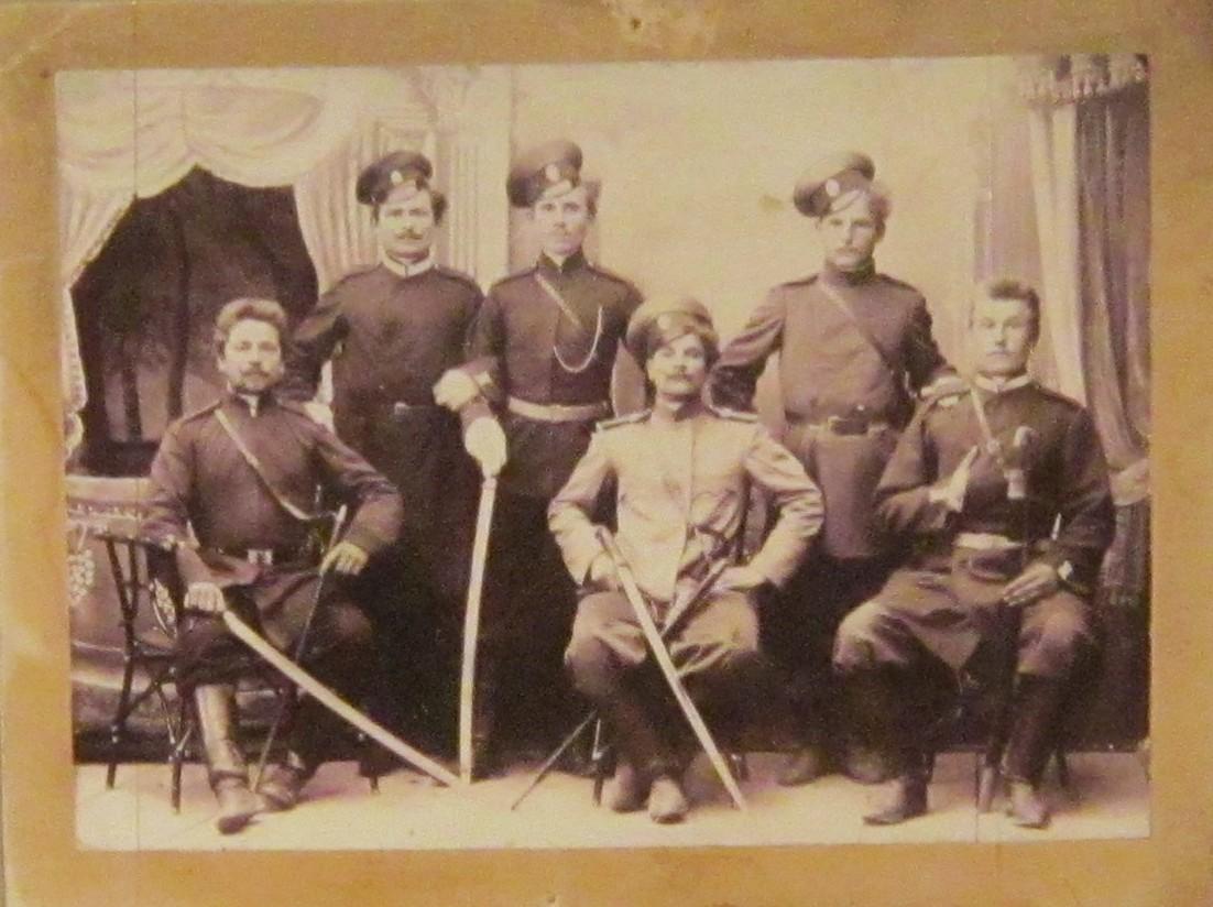Казаки вёшенцы - участники боёв на Кавказском фронте в Первую мировую войну.