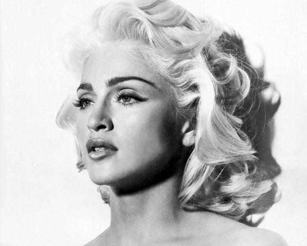 Мадонна перевоплотилась в Мэрилин Монро