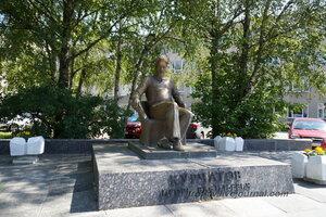 Памятник Курчатову, Обнинск