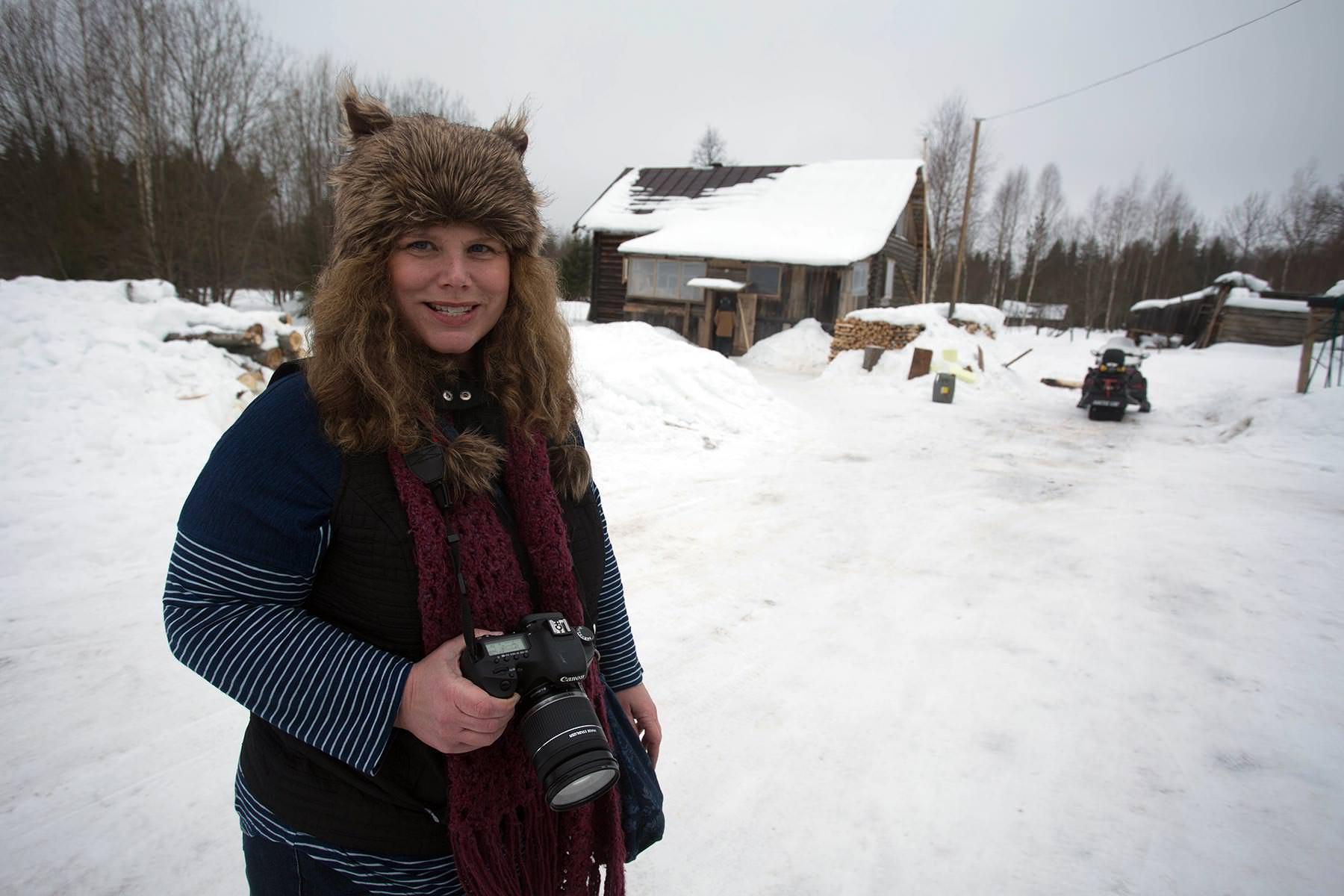Выживет ли американка в русской деревне?