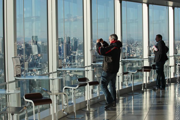 Видовая площадка Mori Tower (фото)