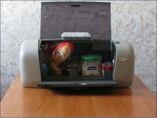 старый принтер применение
