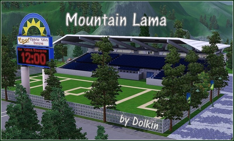 Mountain Lama by Dolkin