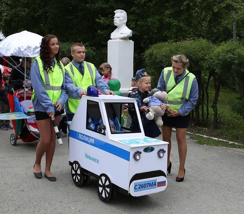 День города 2014 парад детских колясок