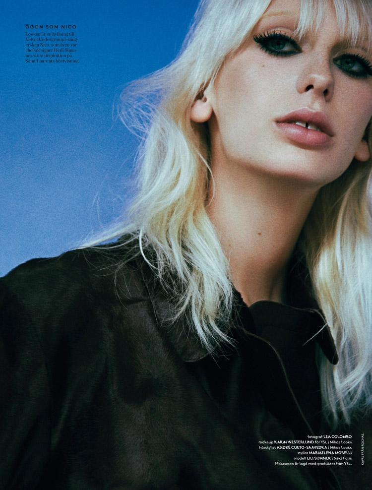 Лили Самнер (Lili Sumner) в журнале Styleby