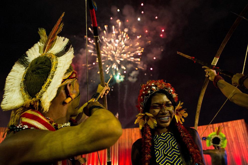 5. Бороро — индейский народ в Боливии (2 тыс. чел.) и Бразилии (1 тыс. чел.) Кстати, открытие Игр со