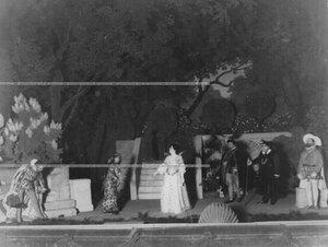 """Сцена из спектакля """"1569 год"""" по пьесе В.В. Борятинского."""