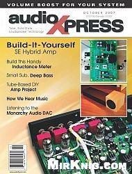 Журнал AudioXpress №10 2007
