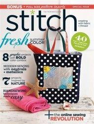 Журнал Interweave Stitch - Summer 2011