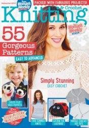 Журнал Womans Weekly Knitting & Crochet - September 2015