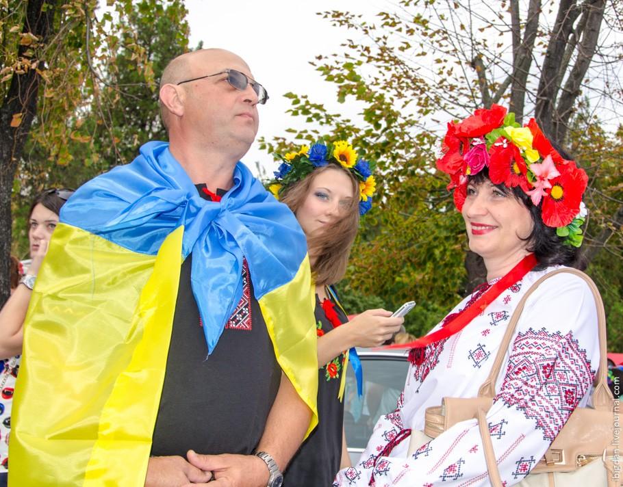 24 августа в г.Кременчуге прошёл Парад Вышиванок