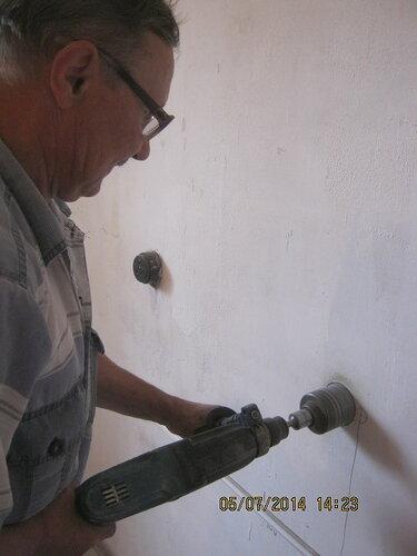 Бурильщику по-фигу где сверлить - в забое или на кухне