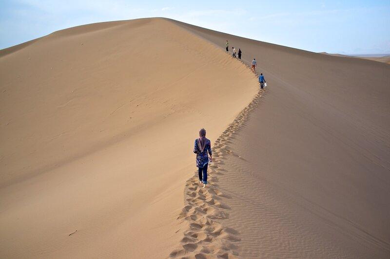 Иран. Пустыня около Язда.