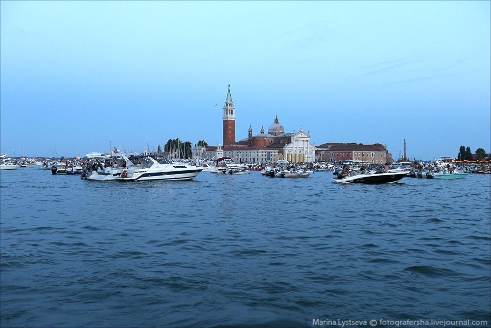 Венеция, праздник Спасителя