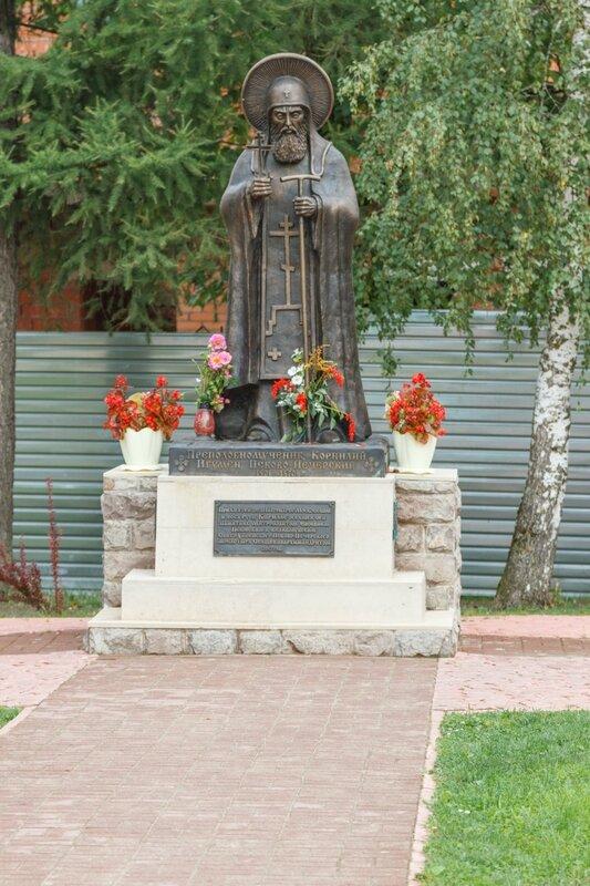 Памятник преподобному мученику Корнилию