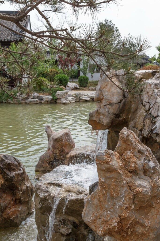 Камни, сад Цзянсу, парк-выставка садов, Пекин