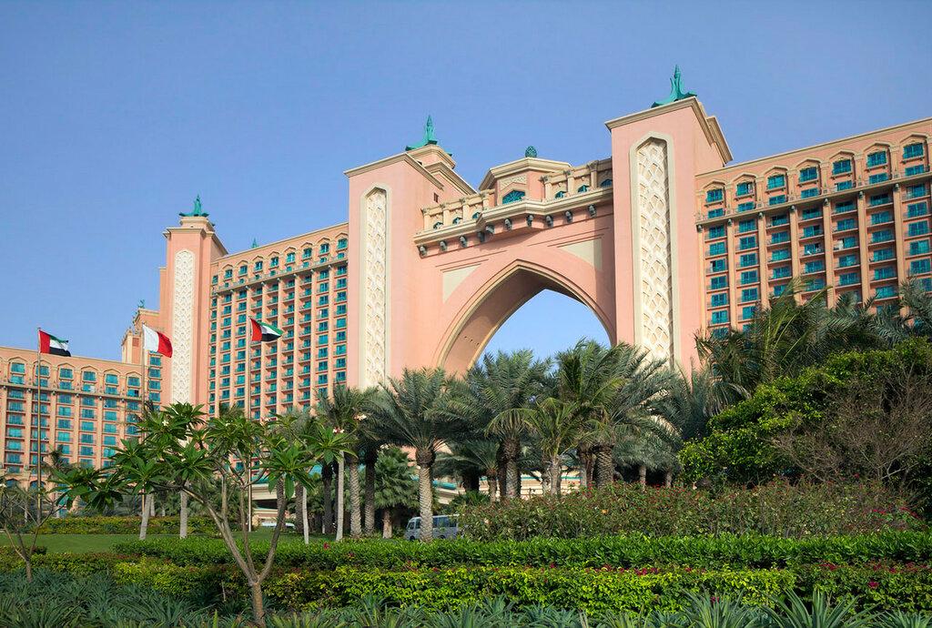 Atlantis Palm Hotel em Dubai.  UAE